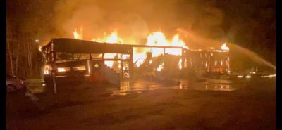 Farmville resident lose business to fire