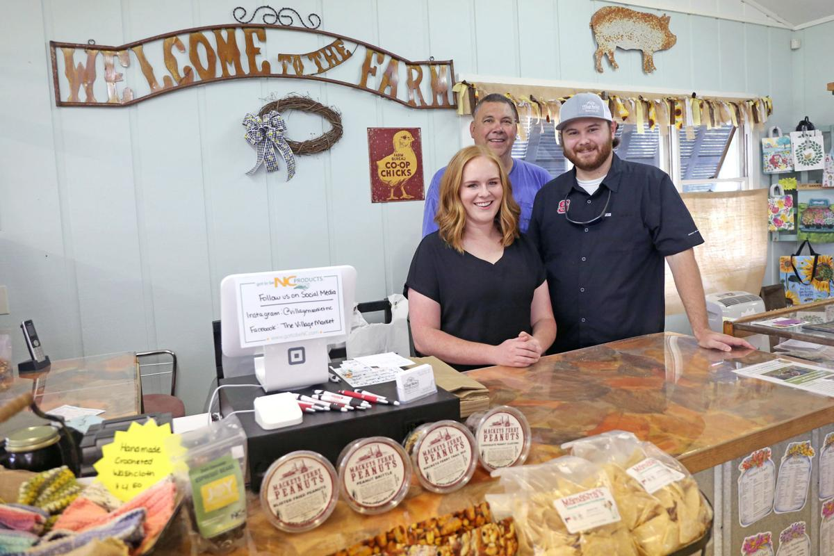 The Village Market features local farmers and artisans 5