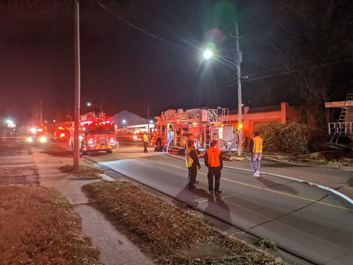 Crews fight vacant house fire