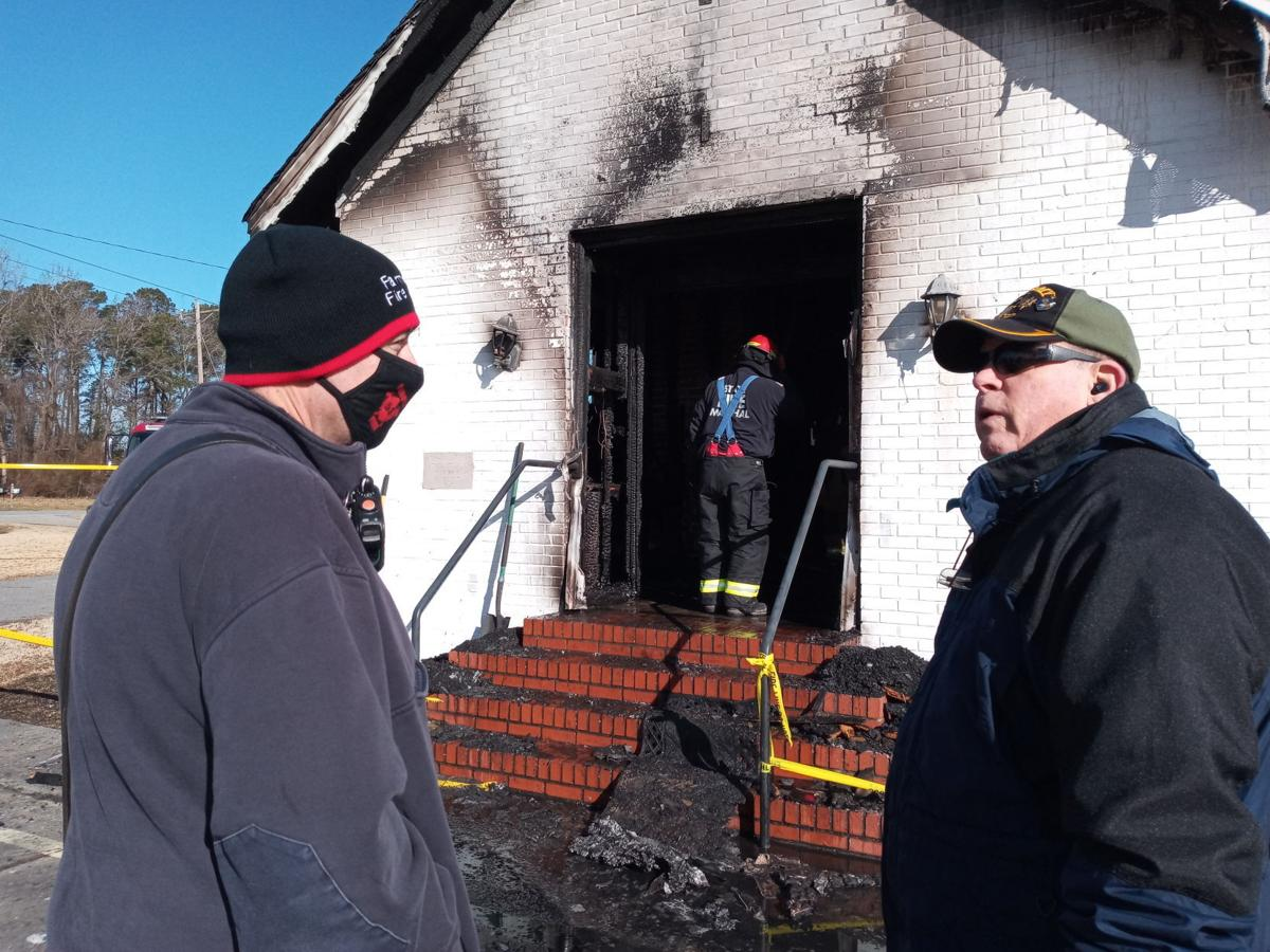 Wesley United Methodist Church fire still pending