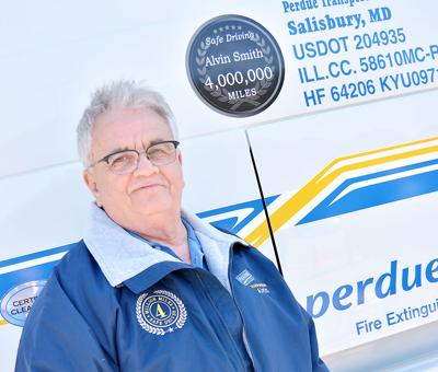Perdue Farms Driver Achieves Four Million Consecutive Accident-Free Driving Miles