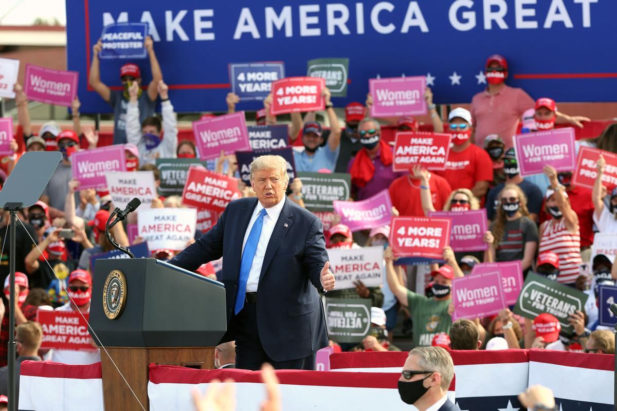 President Trump in Greenville 24