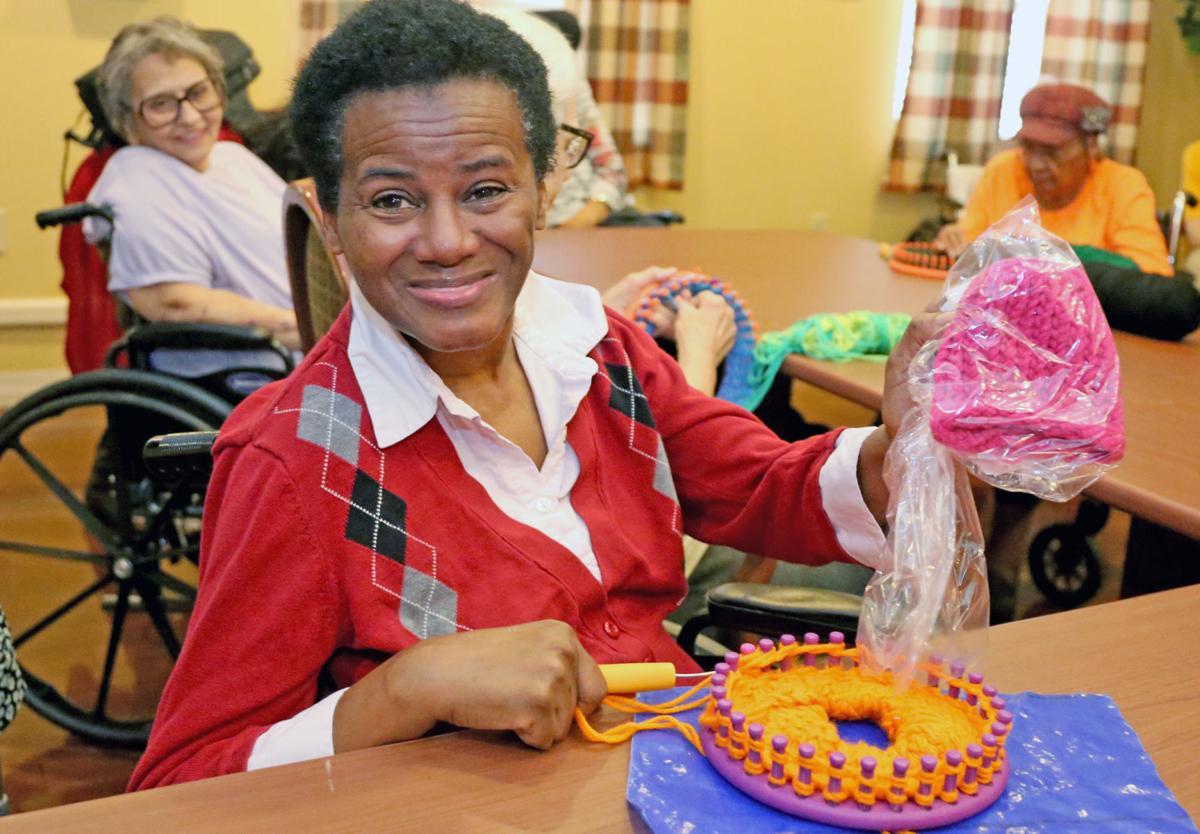 Giving back links seniors to the community
