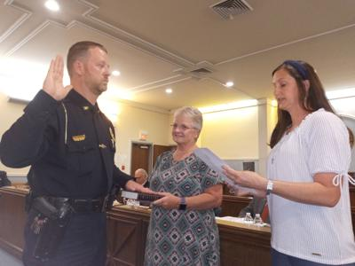 Spencer sworn in as chief