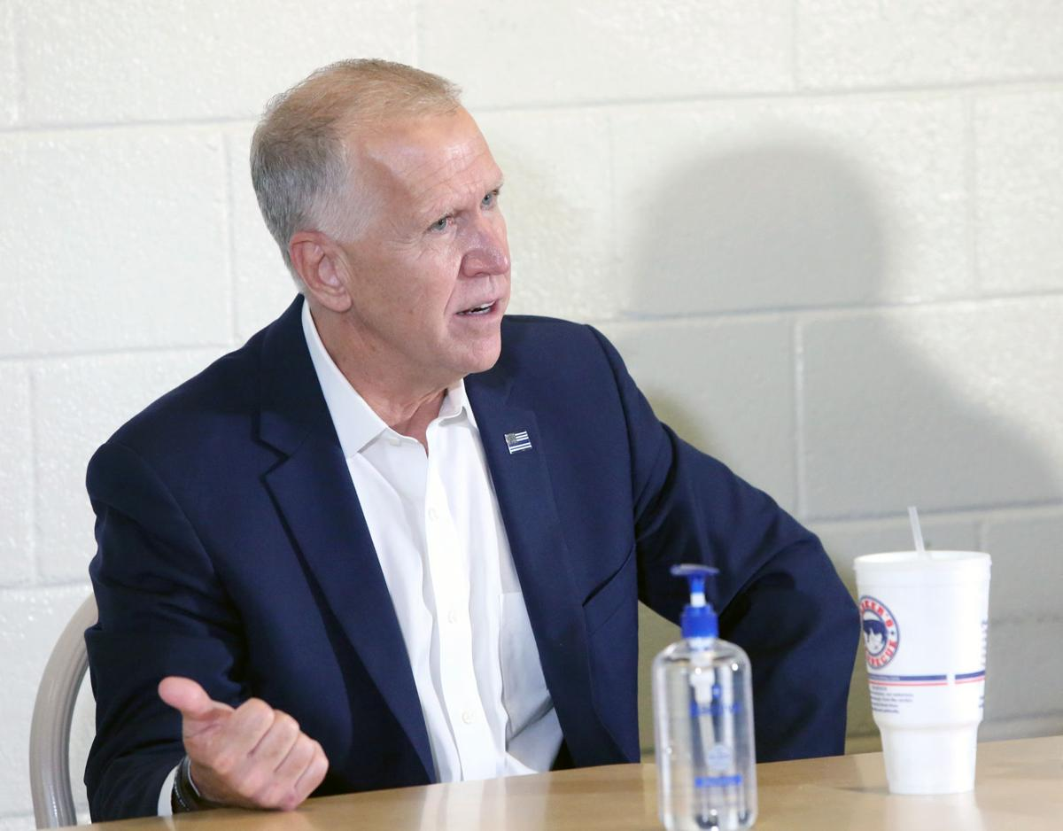 Tillis holds roundtable discussion 4