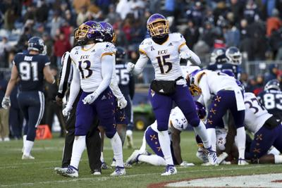 East Carolina UConn Football