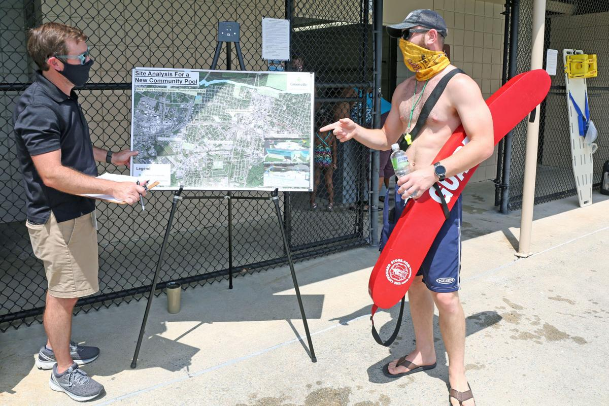 City of Greenville seeks input for new pool 6