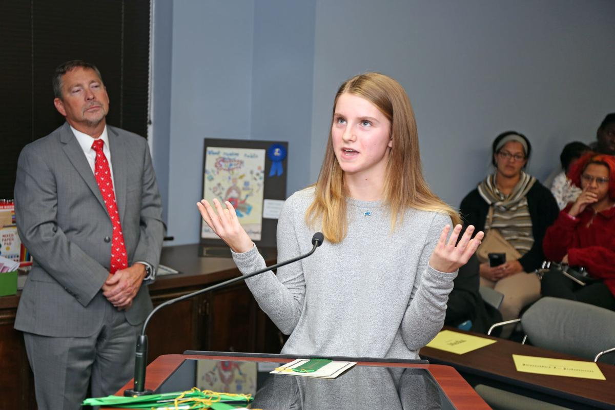 Board of Education holds reception for annual art competition