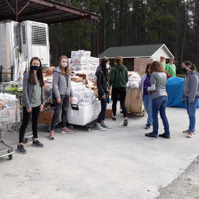 Local Parrott Students Work to Fight Hunger