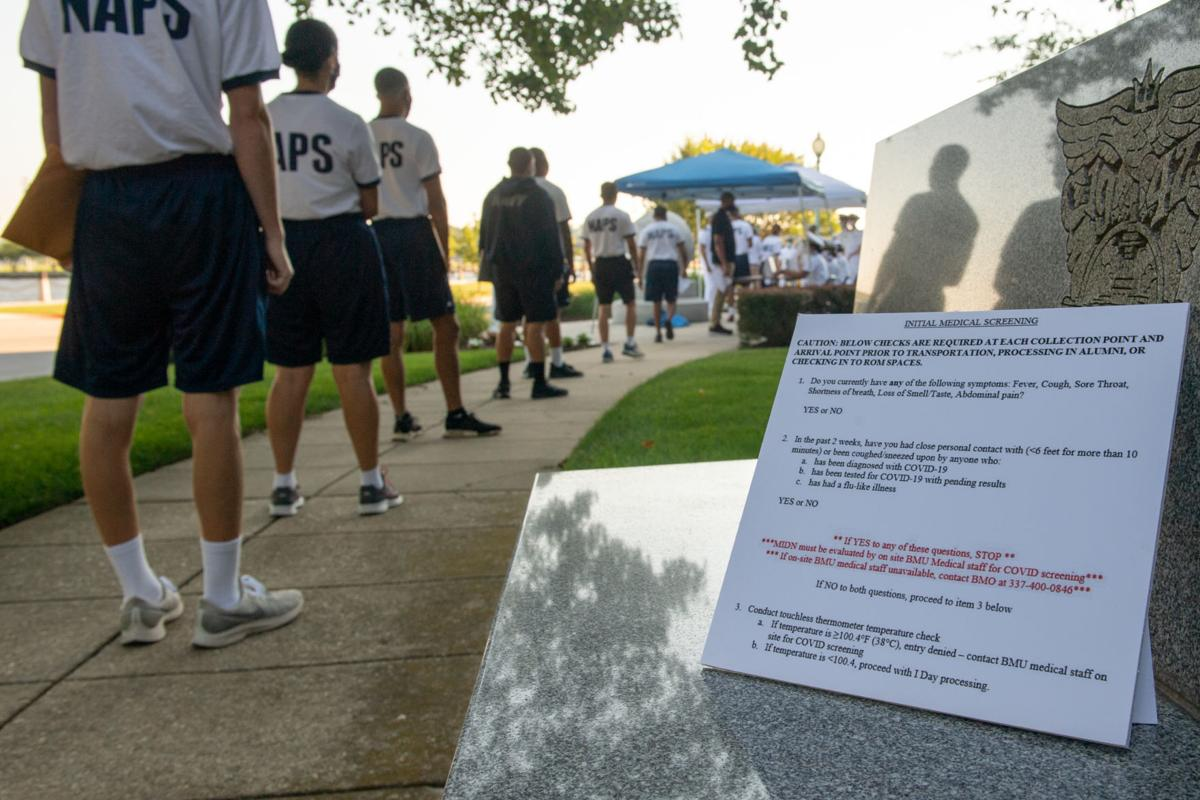 USNA Induction Day