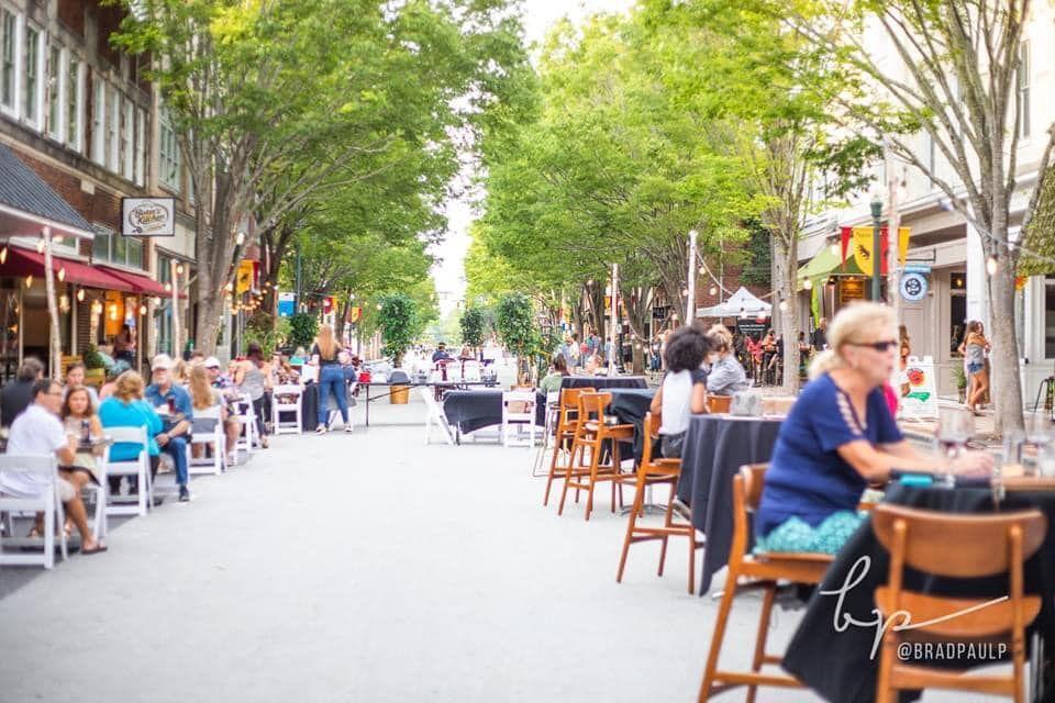 New Bern street