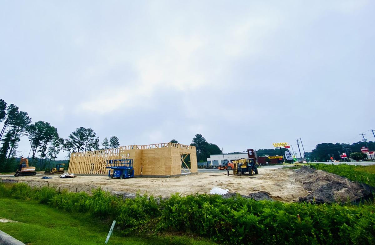 Starbucks construction site