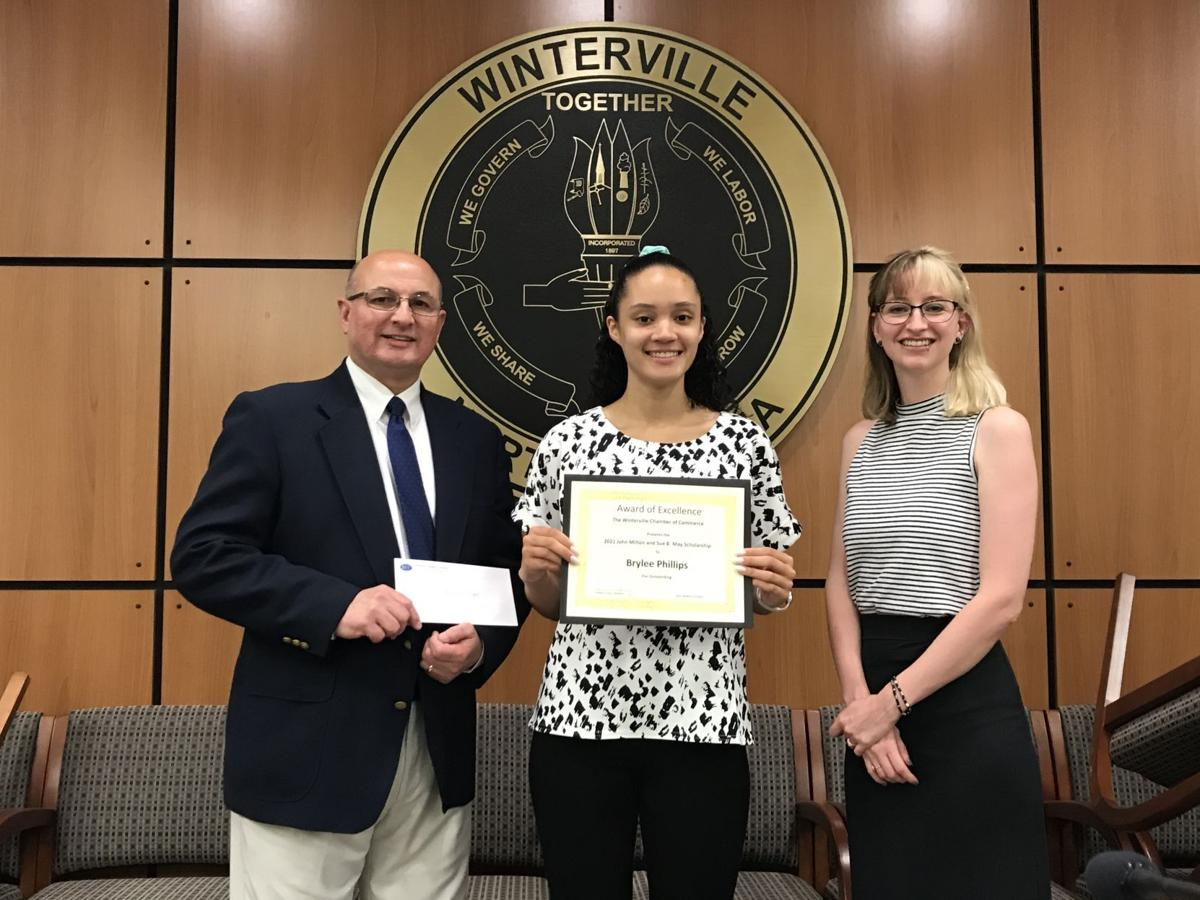 Winterville Chamber of Commerce Awards Businesses, Individuals, and Students!