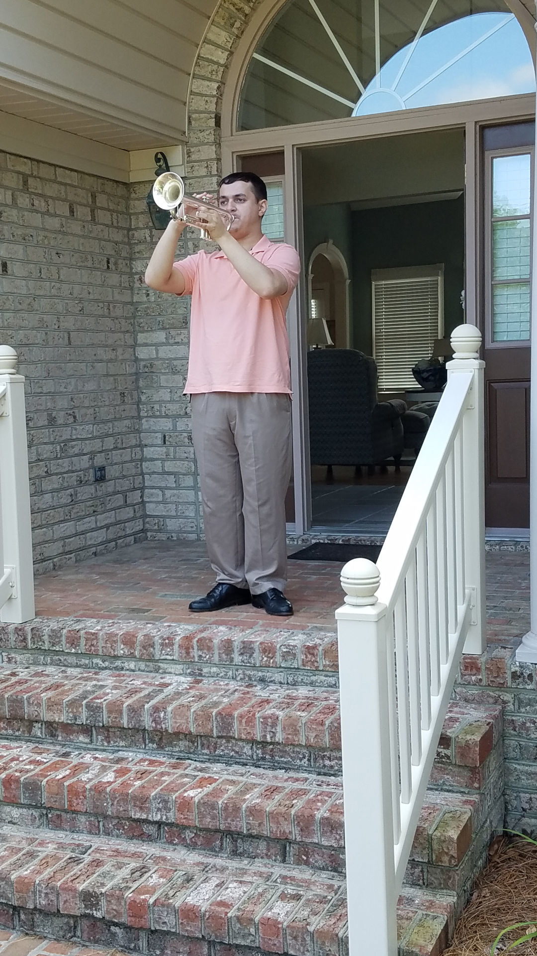 Playing taps