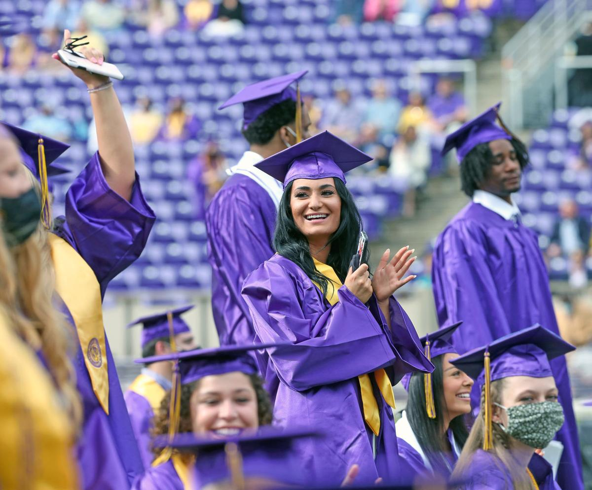 ECU graduation ceremonies took place Friday 24