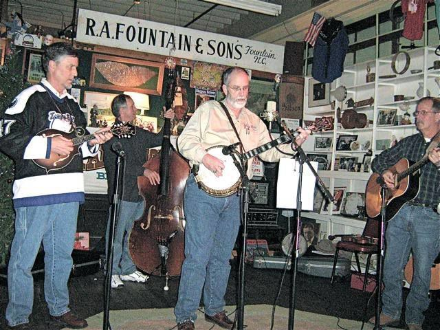 The Famous Farm and Home Bluegrass Band