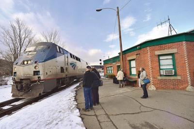 Bellows Falls train station request scaled back