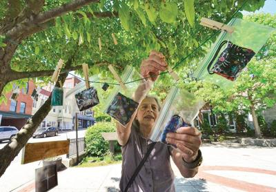 Mask tree grows downtown