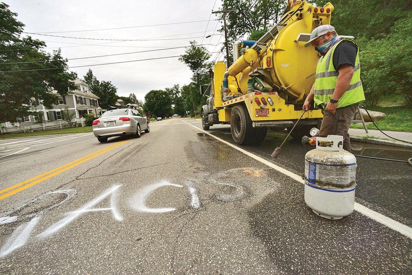 Anti-BLM graffiti pops up around Windham County