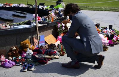 Canada Indigenous School Deaths Trudeau Memorial