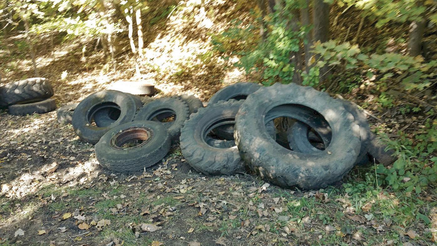 Volunteers pull 135 tires from marsh