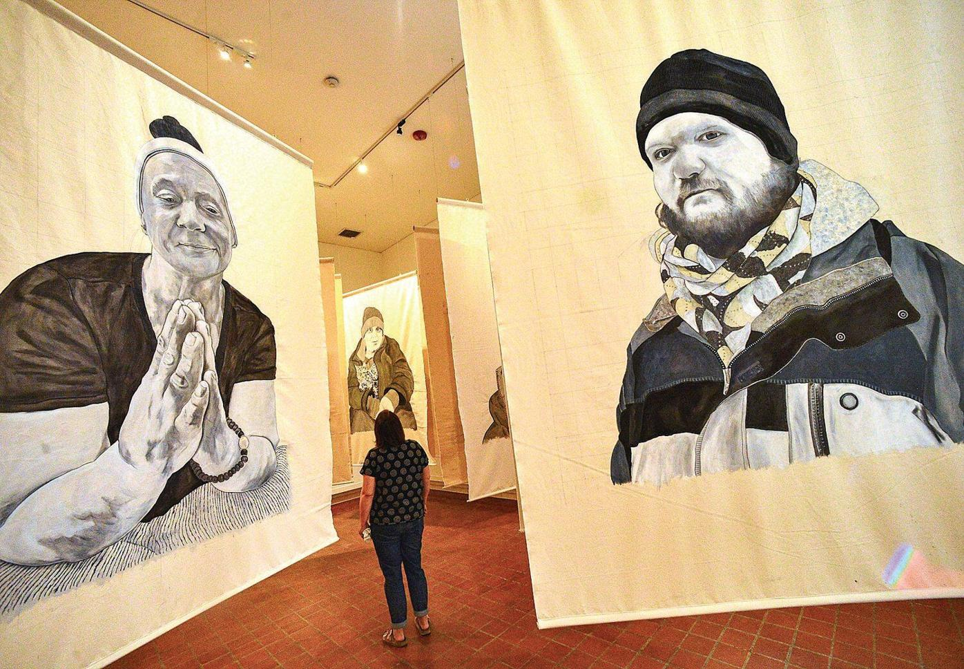 With larger than life artwork, Brattleboro Museum & Art Center reopens Thursday