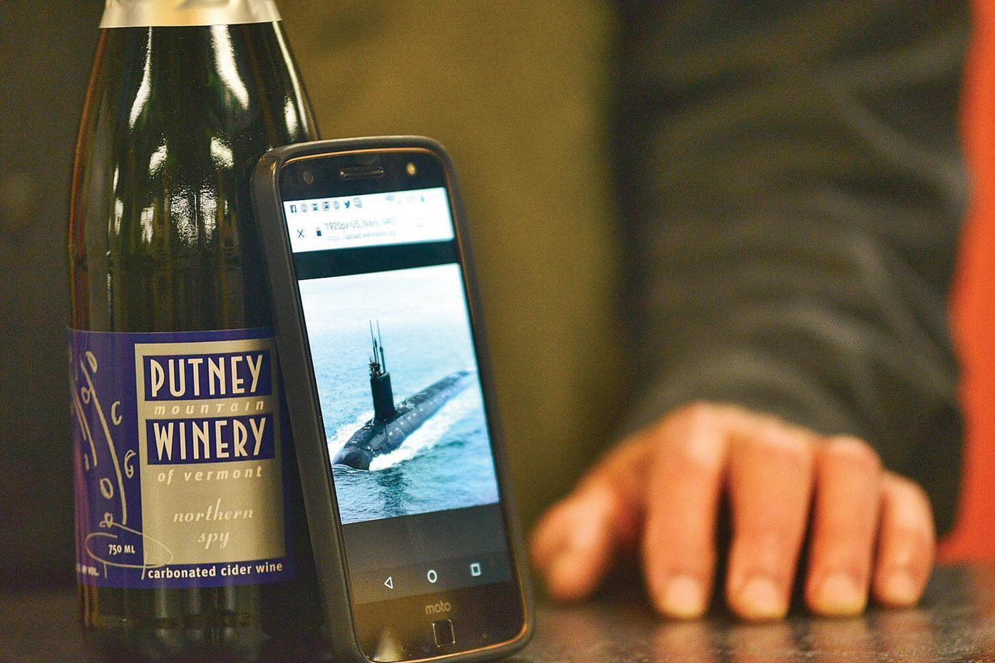 Putney sparkling wine to christen USS Vermont