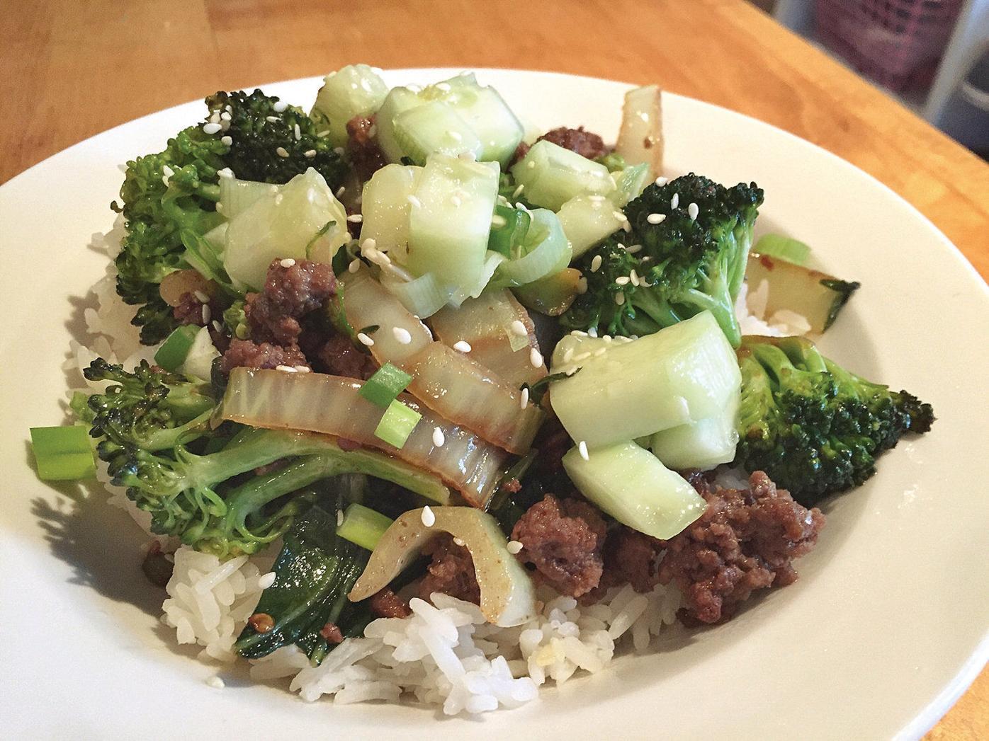 Easy weeknight dish: Very veggie stir fry