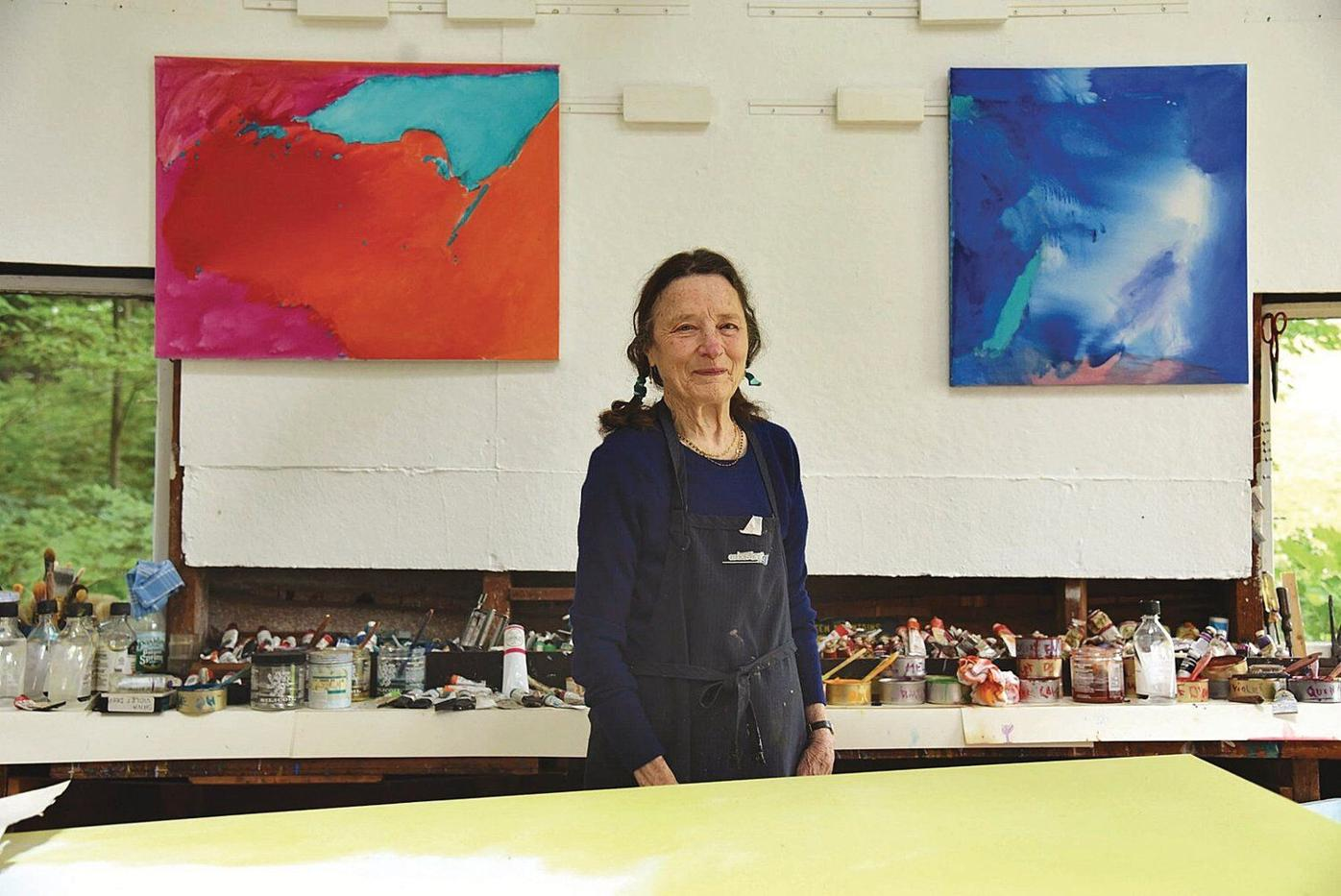 Emily Mason, artist who 'adopted' Brattleboro in 1968, dies at 87
