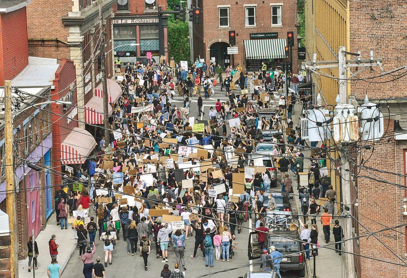 Taking to the streets: Youth rally against police brutality