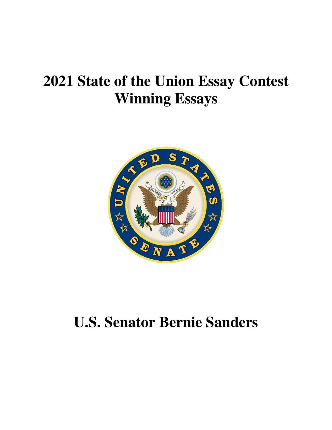 State of the Union high school essays
