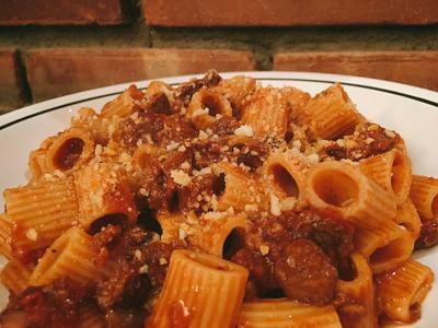 Rich meat sauce recipe