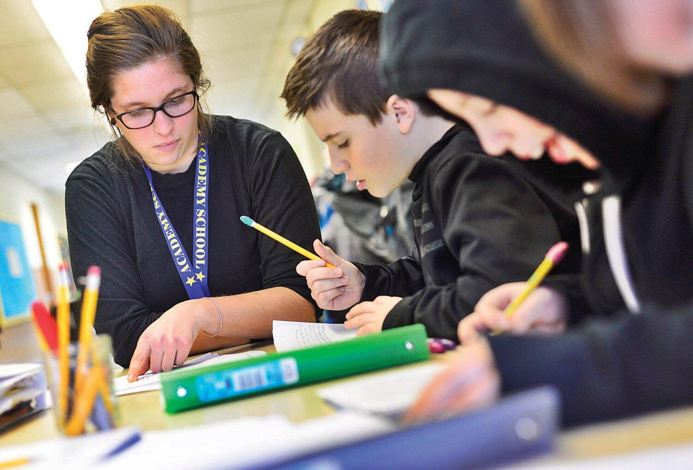 Interns get practical experience as teachers