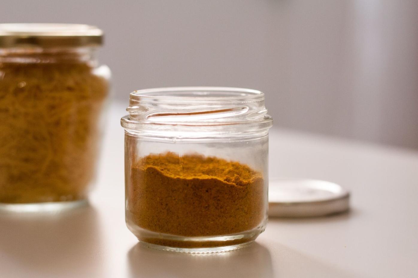 Jar of spice