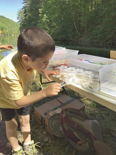 Experiential science learning with Four Winds Nature Program