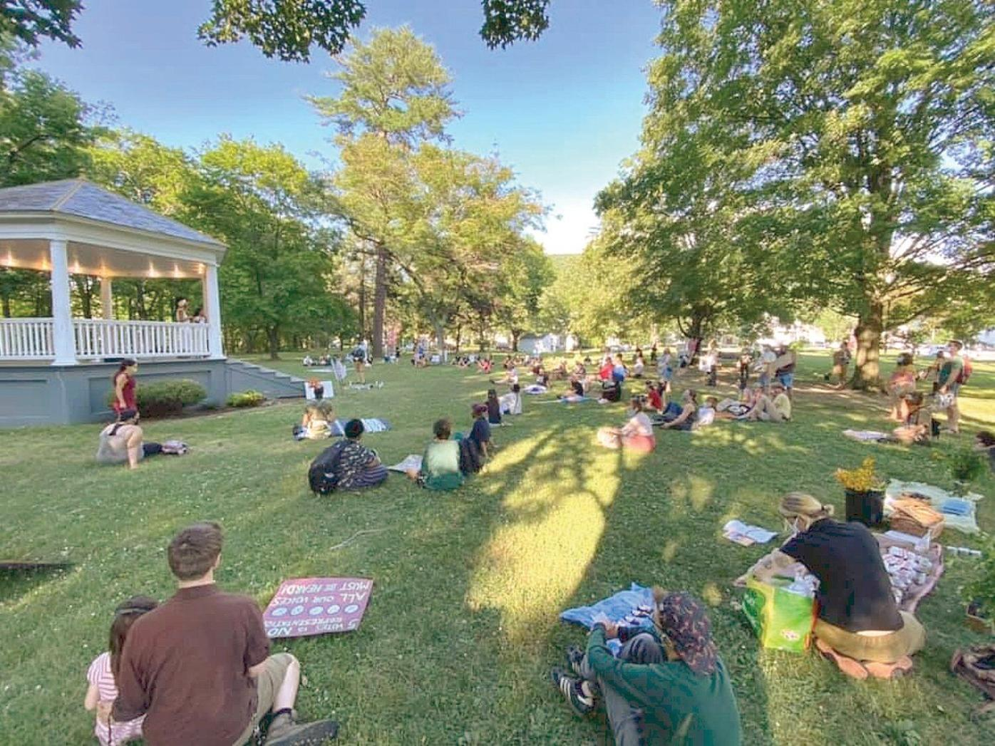 Social justice demonstration helps community healing