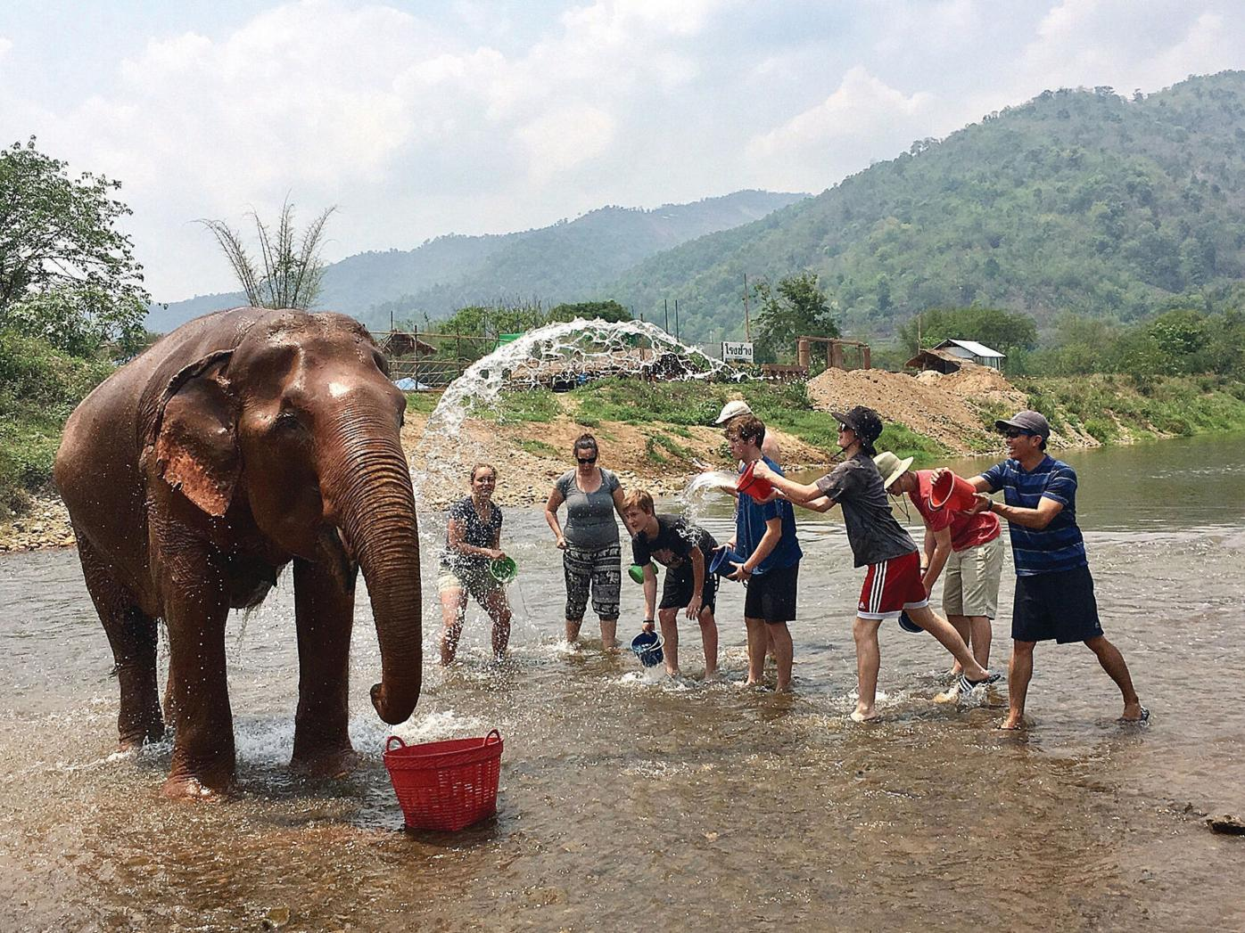 An adventure of a lifetime: Leland and Gray students in Thailand