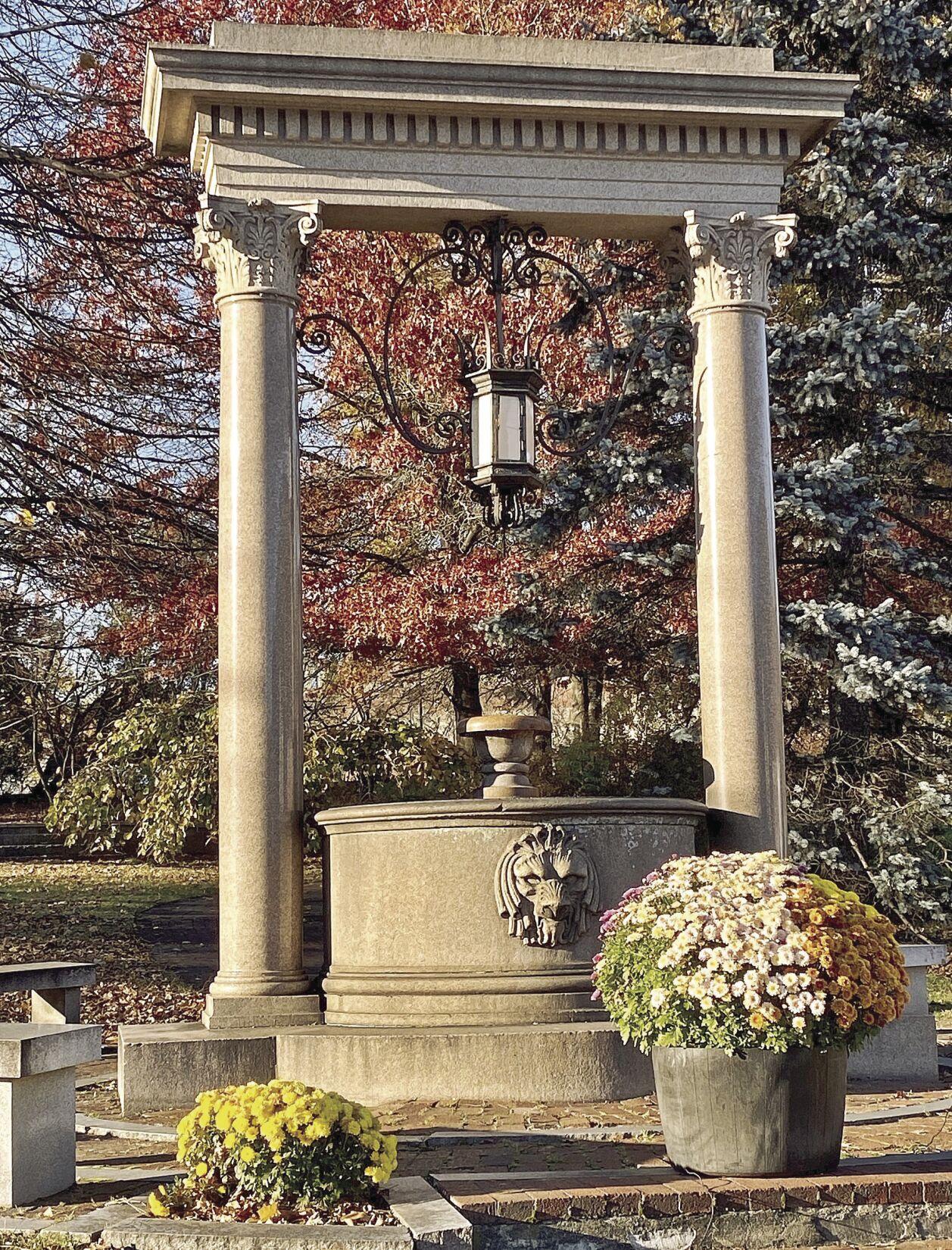 Wells Fountain - 1917 | Brattleboro Historical Society