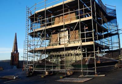 Rebuilding Brattleboro's Brooks House