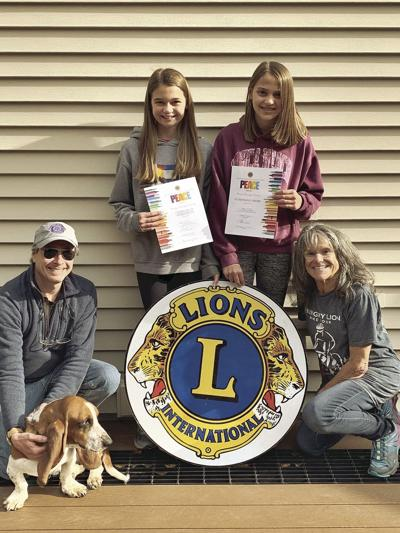 Lions Club poster winners