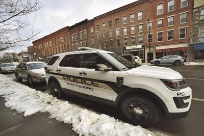 Brattleboro Police Department patrol vehicle