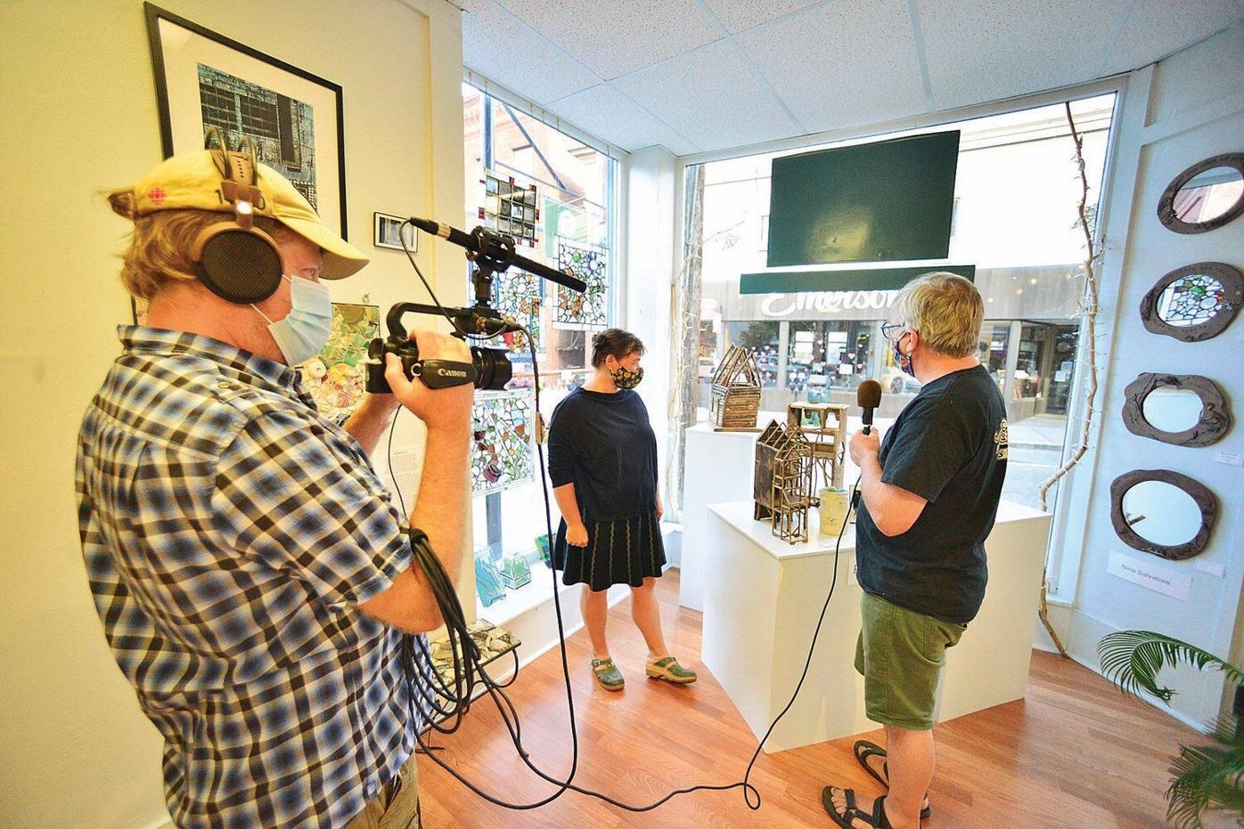 Gallery Walk goes digital