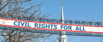 Letter: Civil Rights For All banner petition