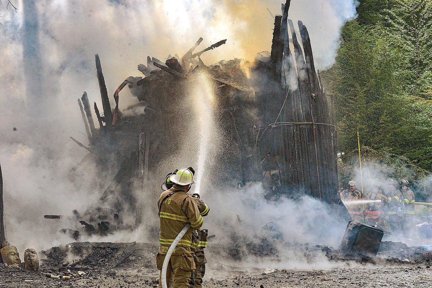 Injuries reported in silo fire