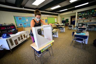 Schools get pandemic supplies