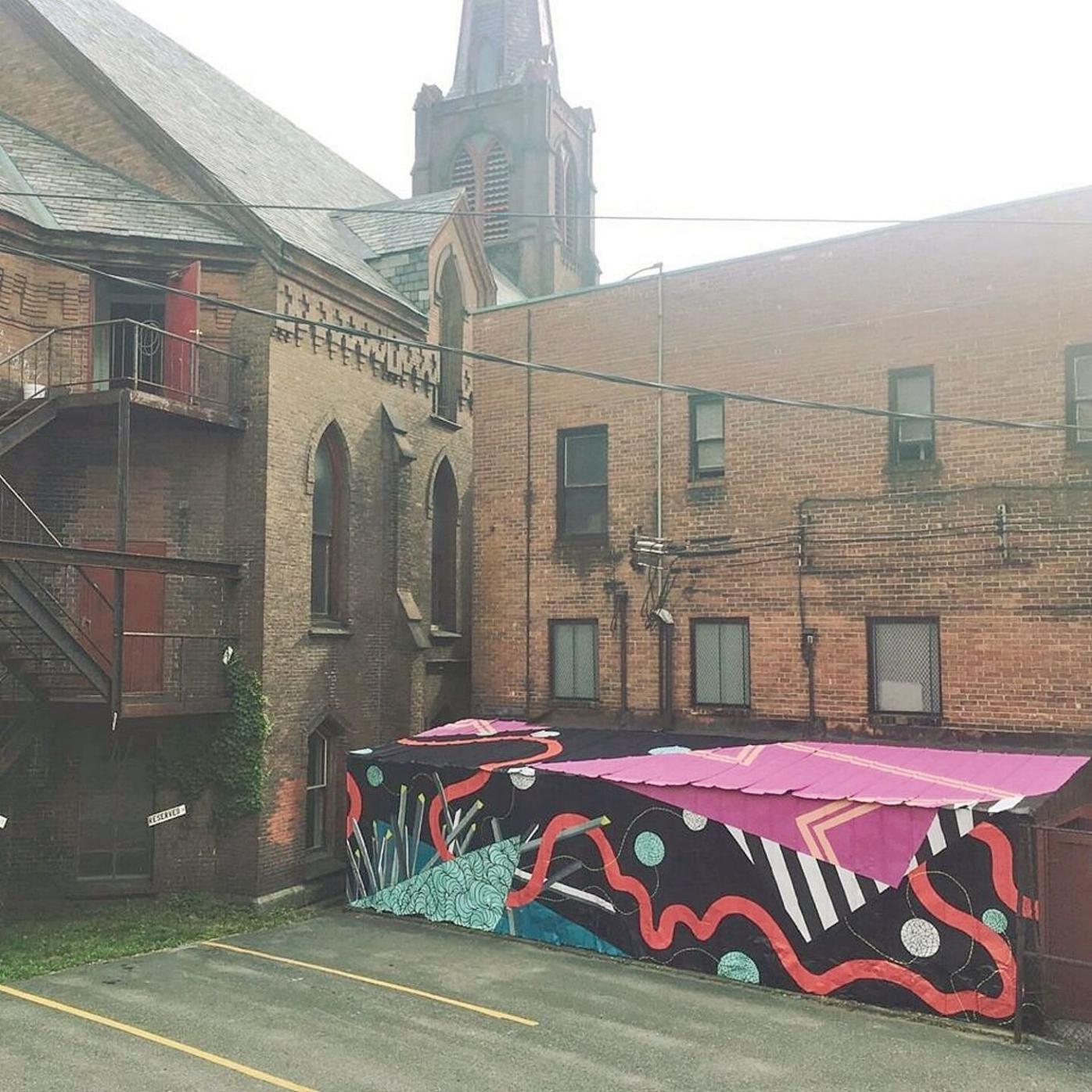 Adding art and color to downtown Brattleboro