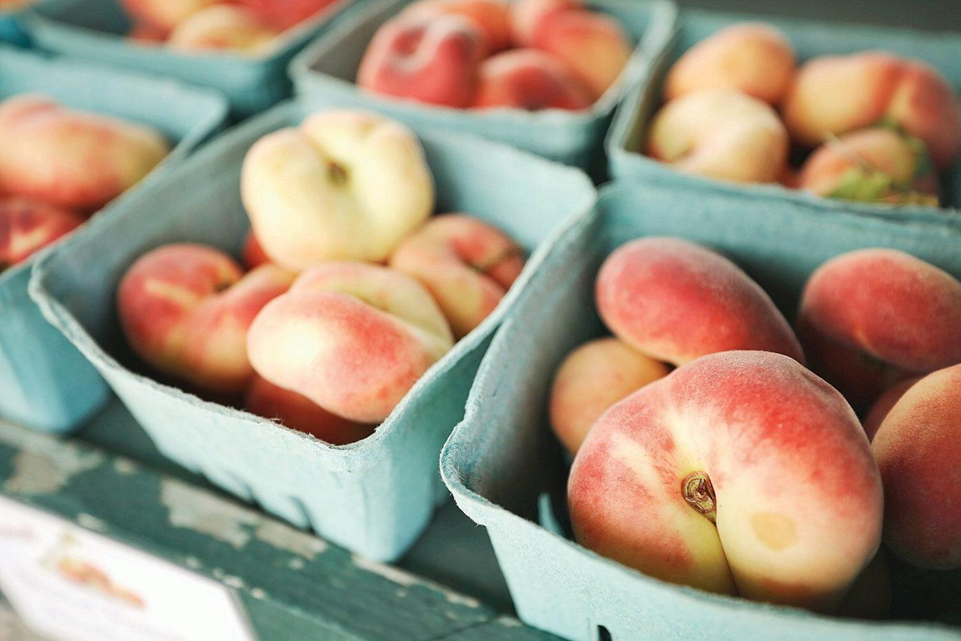 Latest food fad? Donut peaches bring a sweet note to summer