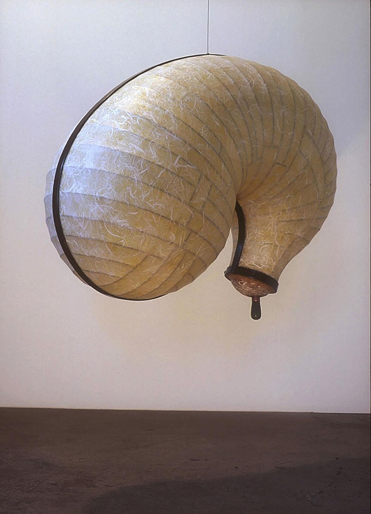 Copy of A. John Hughes. No Title. 1996. 27 x 37 x 24 inches. Steel, Paper, Nylon, Felt, Maple, Copper, Acrylic Polymer.jpeg