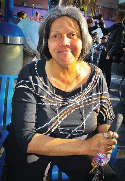 Activist 'Miss Major' visits Brattleboro