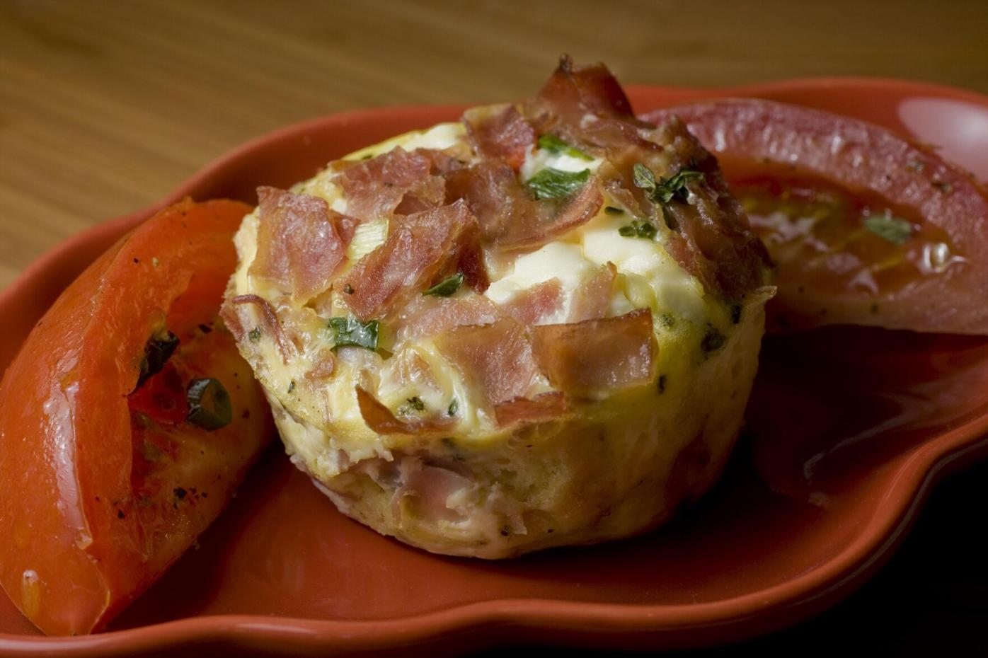 Food Casseroles Ham and Egg